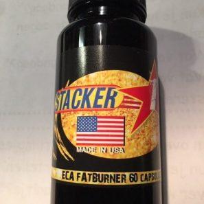Stacker1 met ephedrine, aspirine en caffeine
